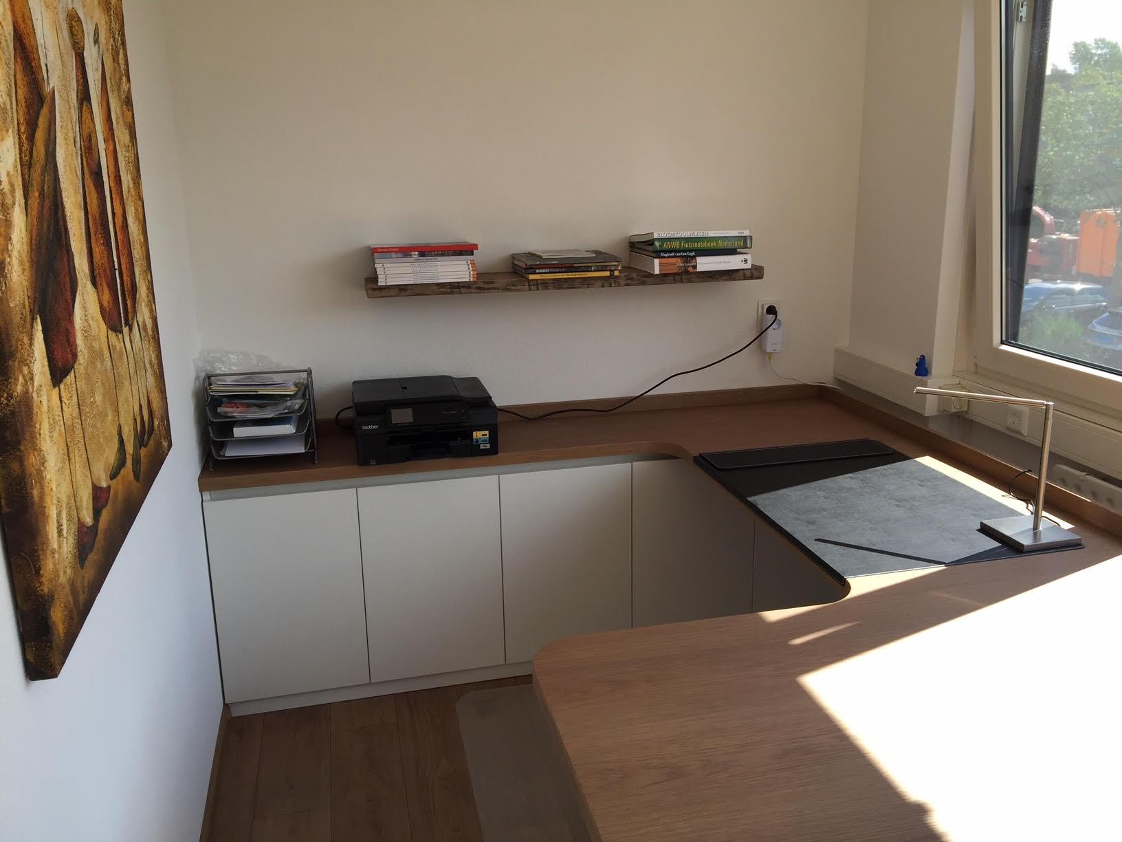 Kantoor meubels bureaus bureau cuuba libre hoogglans jahnke mansveld - Moderne kantoorbureaus ...