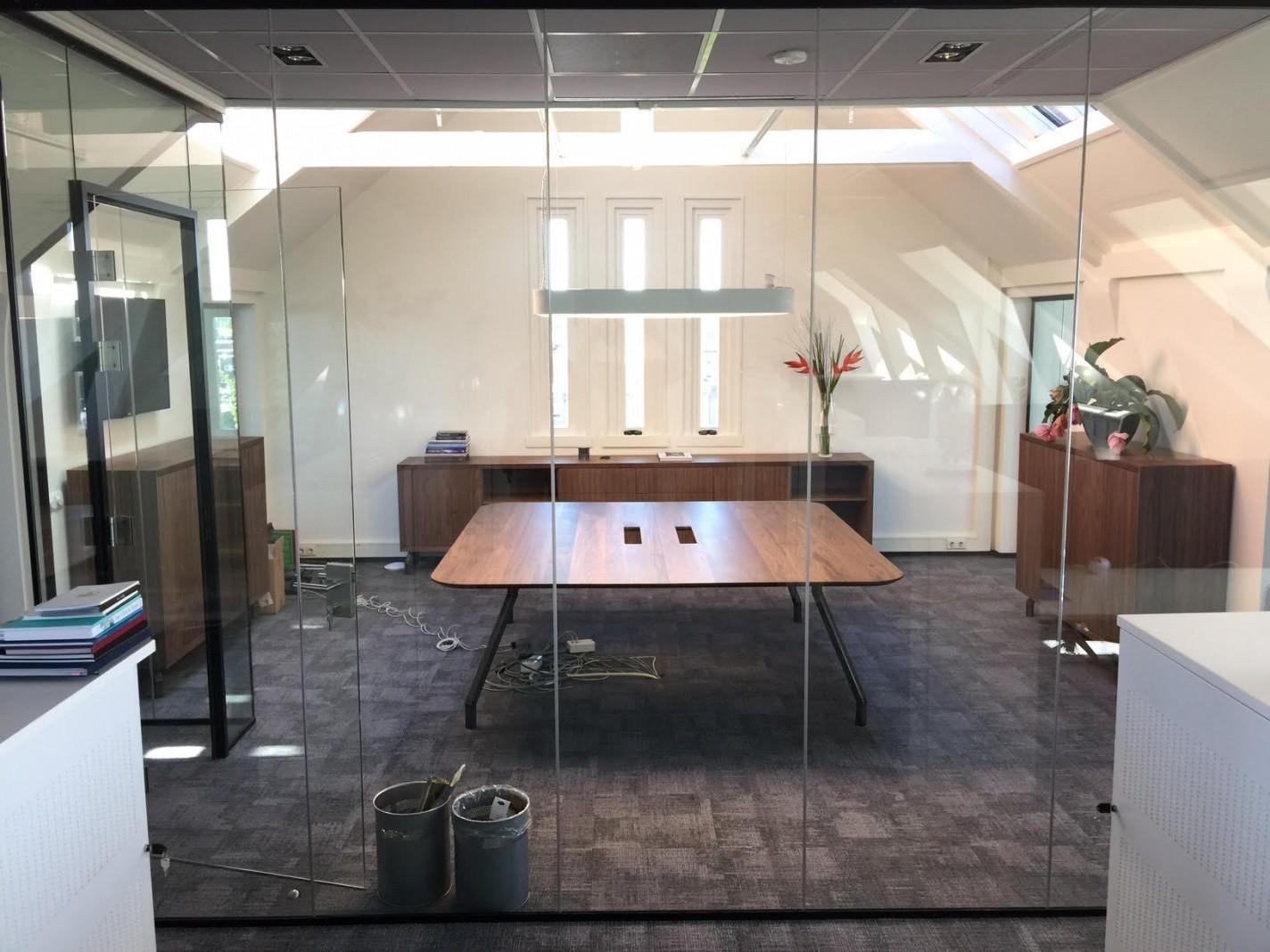Directie kantoor van amerikaans noten for Kantoor interieur design